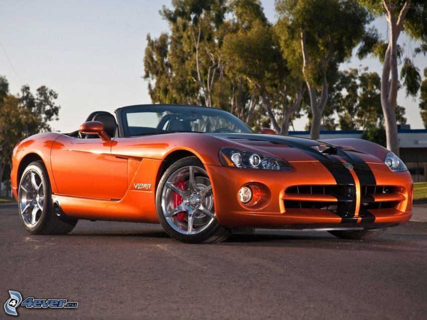 Dodge Viper Srt 10, cabriolet