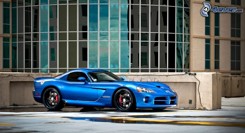 Dodge Viper Srt 10, edificio