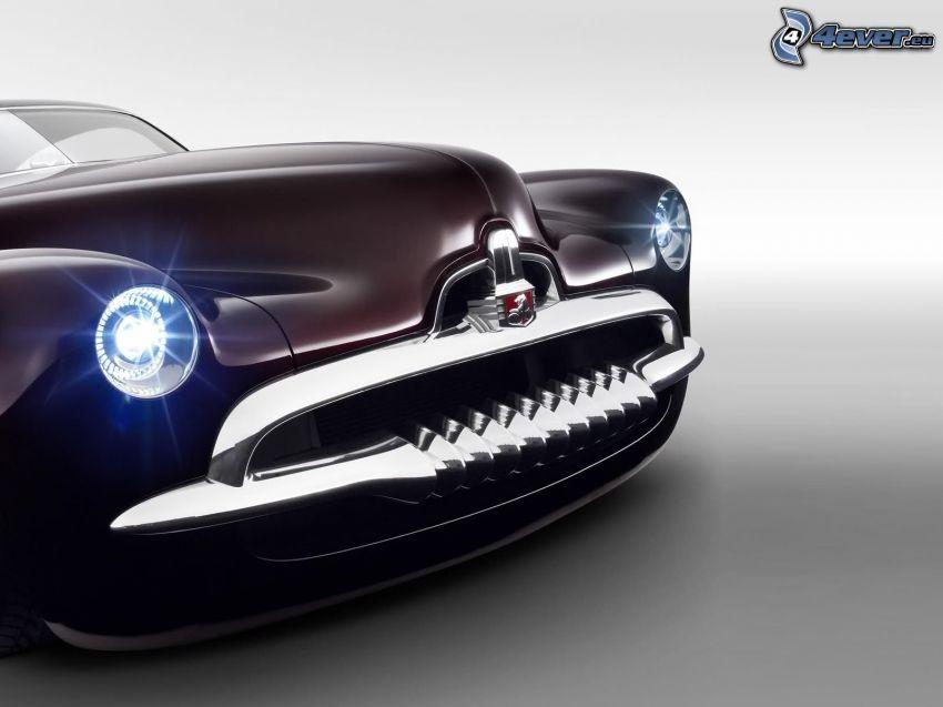 Efijy Concept, faro automobile
