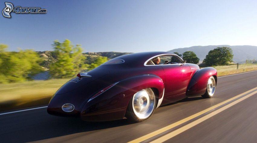 Efijy Concept, velocità
