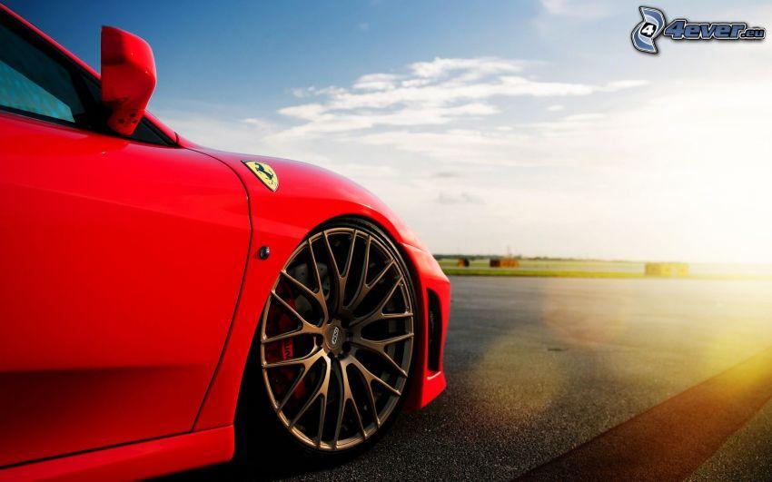 Ferrari, ruota, cerchione