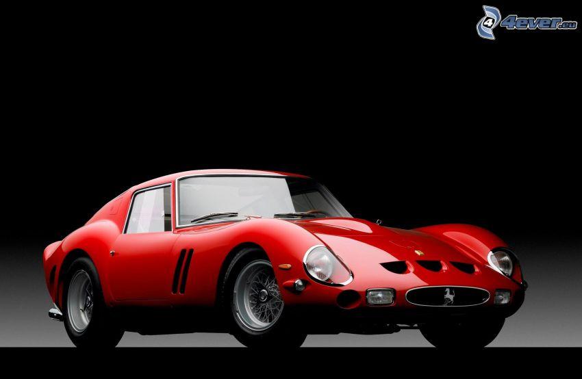Ferrari 250 GTO, veicolo d'epoca