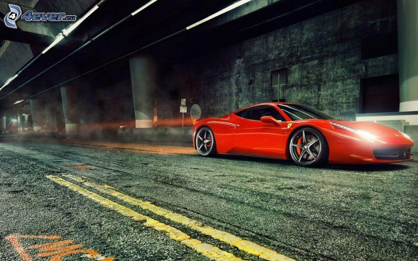 Ferrari 458 Italia, luci