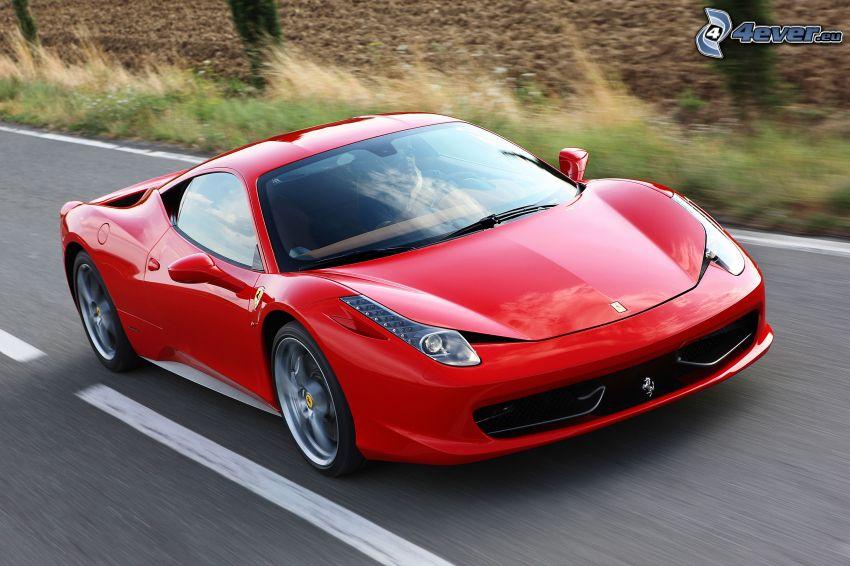 Ferrari 458 Italia, velocità