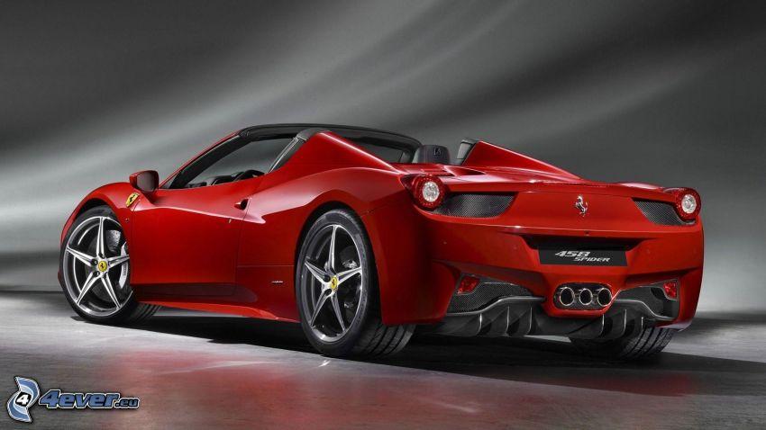 Ferrari 458 Spider, cabriolet