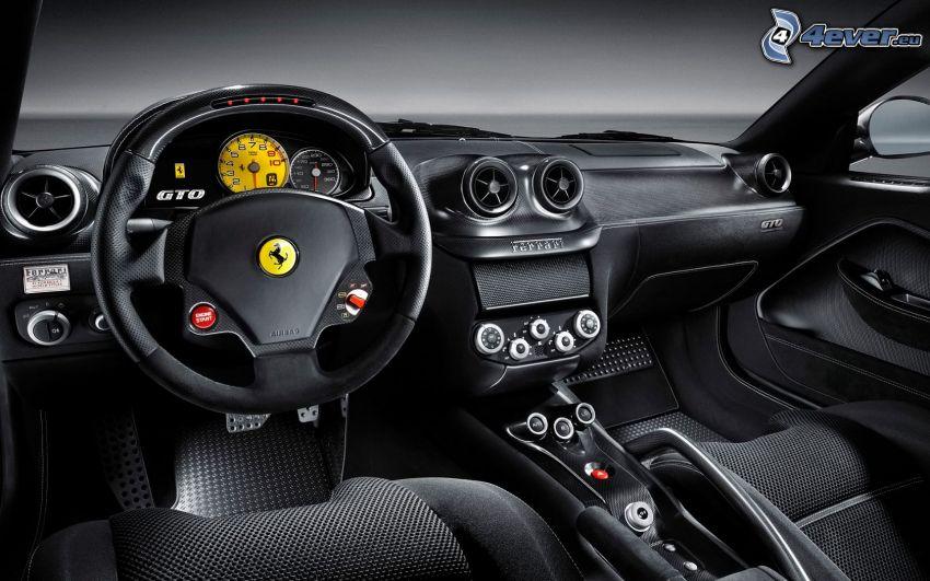 Ferrari 599 GTO, interno