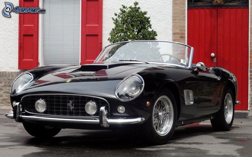 Ferrari California GT, cabriolet, veicolo d'epoca