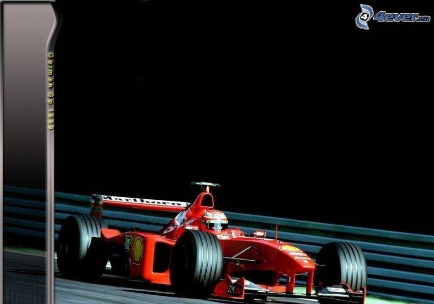 Ferrari F1, formula, Germania, 1999