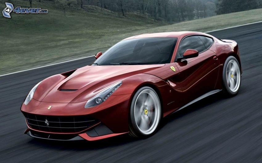 Ferrari F12 Berlinetta, velocità