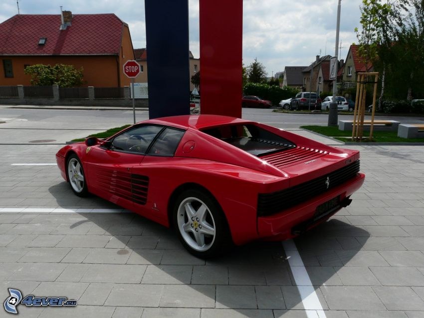 Ferrari TR, strade, stop