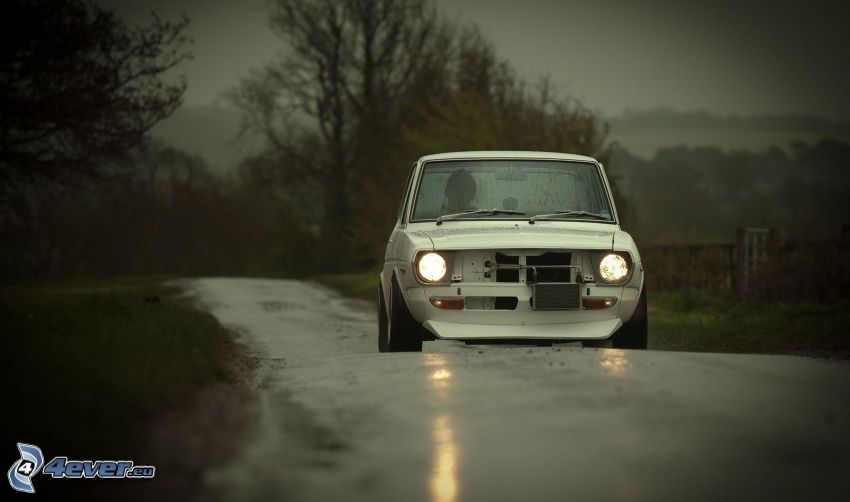 Fiat, veicolo d'epoca, luci