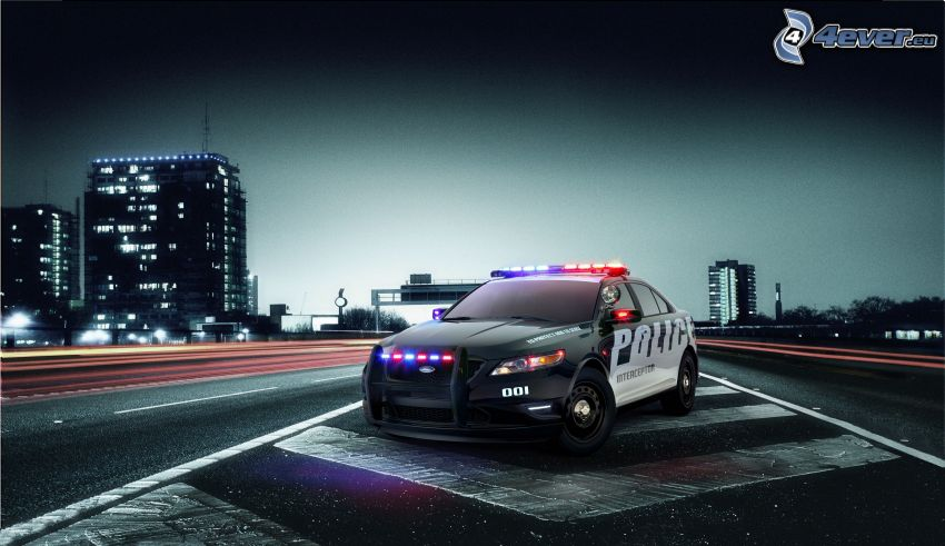 Ford, auto della polizia