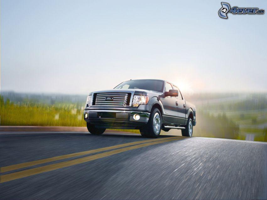 Ford F150 raptor, strada, velocità