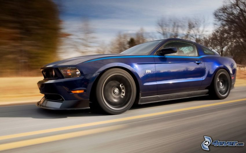 Ford Mustang, velocità