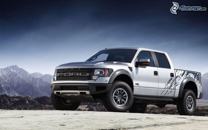 Ford Raptor, montagne
