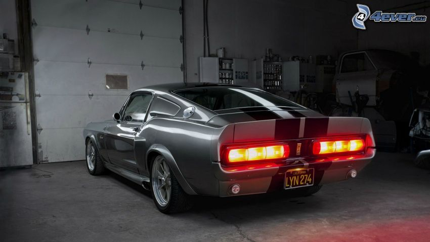 Ford Shelby GT500KR, officina