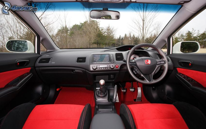 Honda Civic, interno