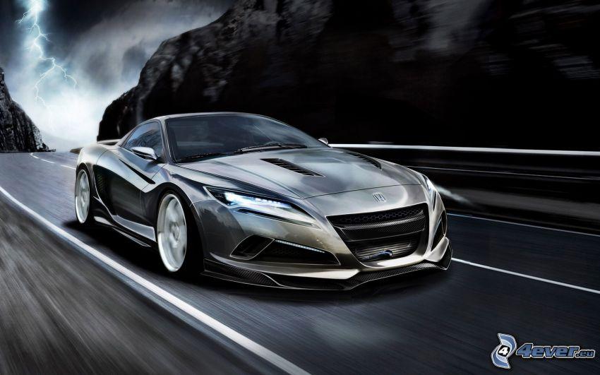 Honda NSX, concetto, auto sportive