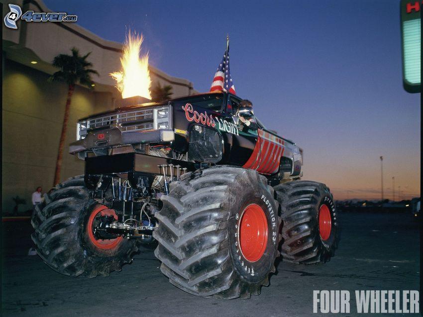 Jeep, fuoco