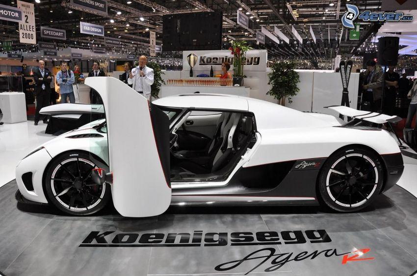 Koenigsegg Agera R, mostra, salone dell'automobile