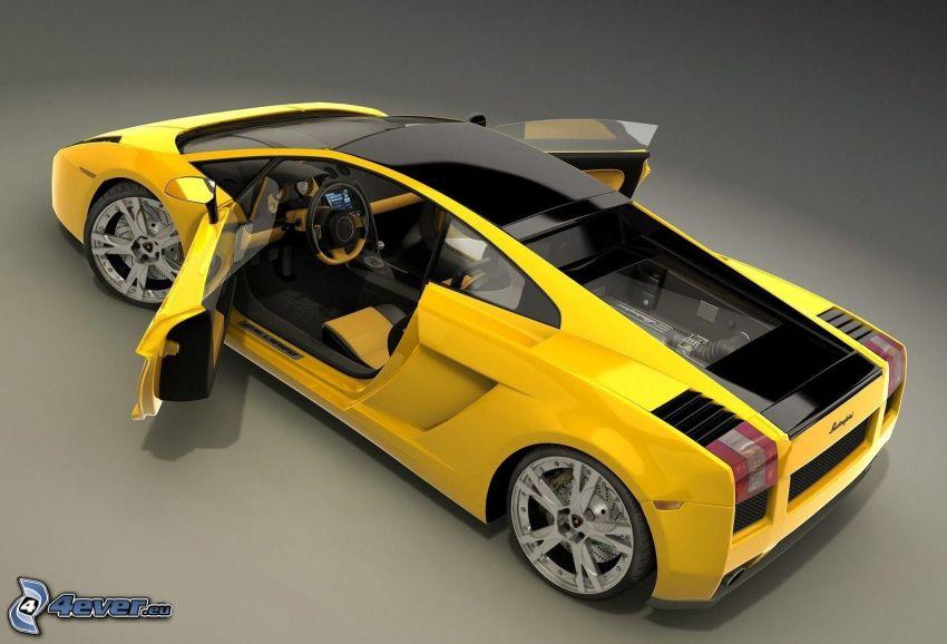 Lamborghini, porta