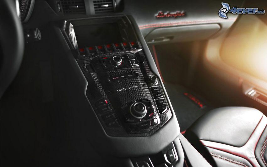 Lamborghini Aventador, interno