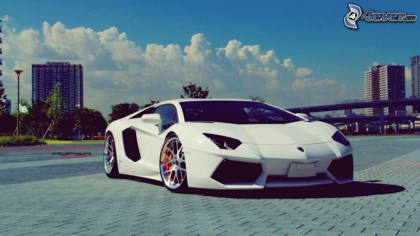 Lamborghini Aventador, piastrelle