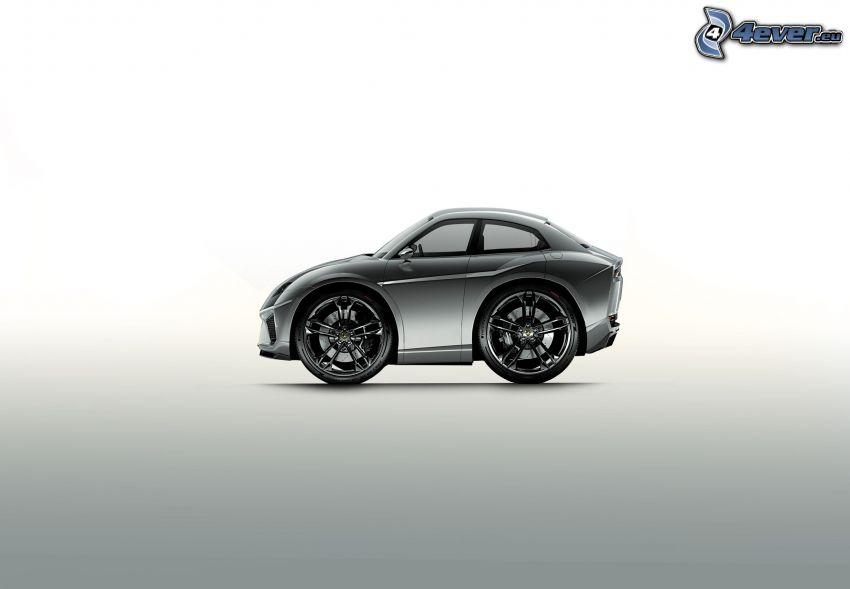 Lamborghini Estoque, concetto