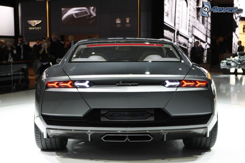 Lamborghini Estoque, mostra, salone dell'automobile