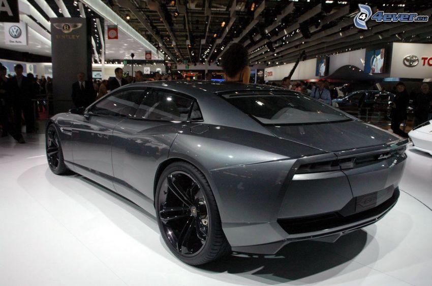 Lamborghini Estoque, salone dell'automobile, mostra