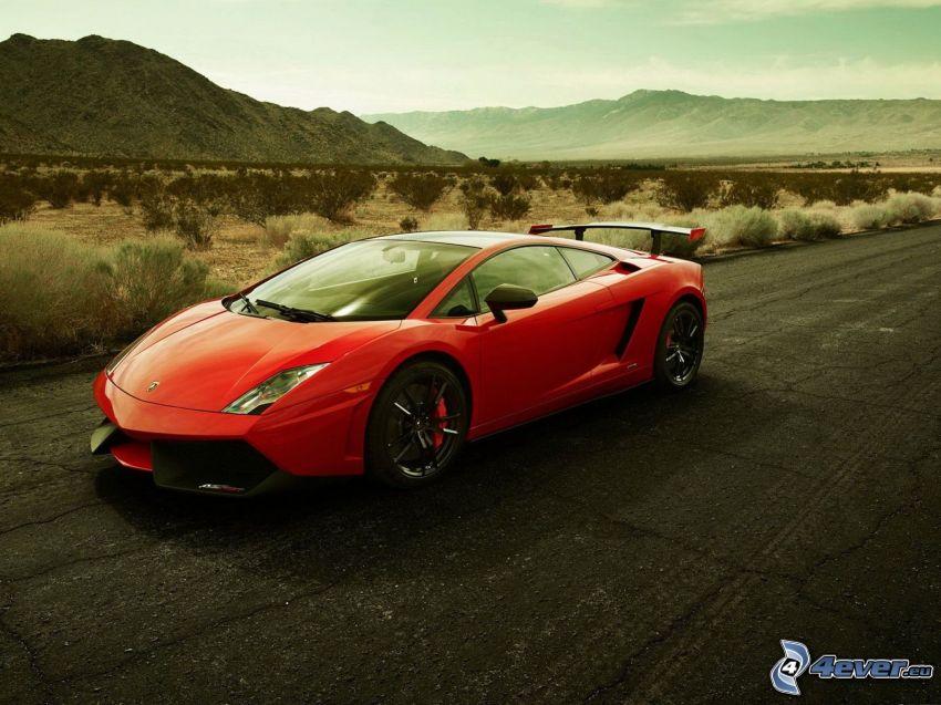 Lamborghini Gallardo LP570, montagna