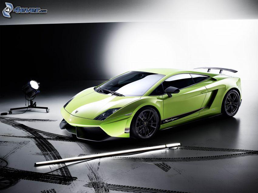 Lamborghini Gallardo LP570, riflettore