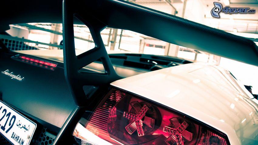 Lamborghini Murciélago, faro posteriore