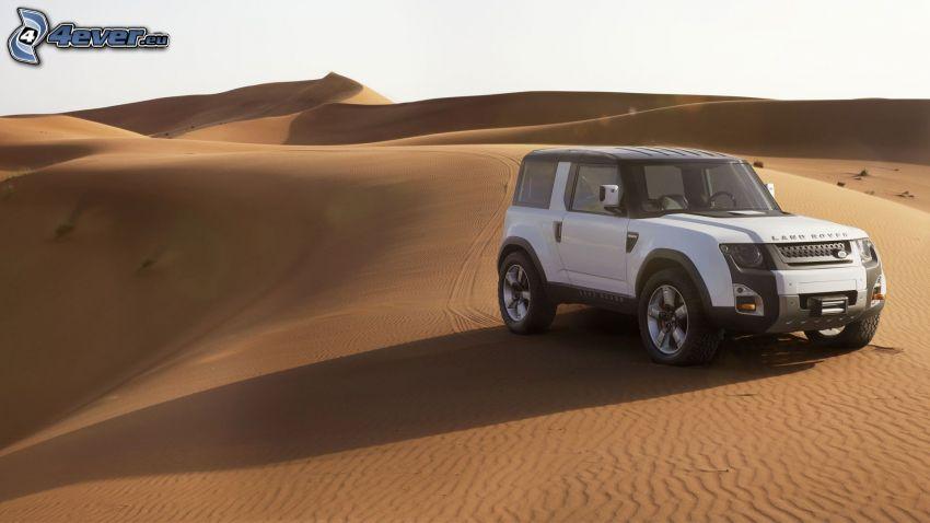 Land Rover DC100, deserto