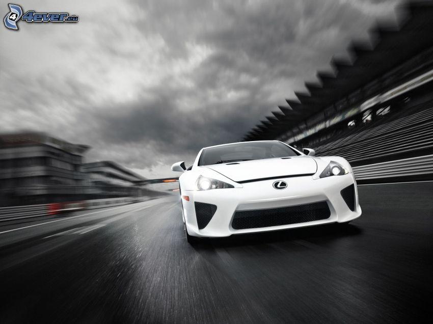 Lexus LFA, velocità