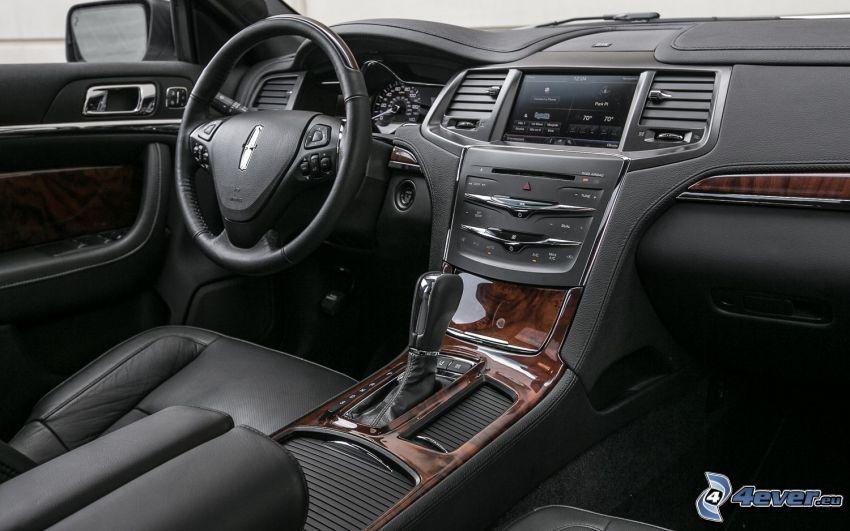 Lincoln MKS, interno