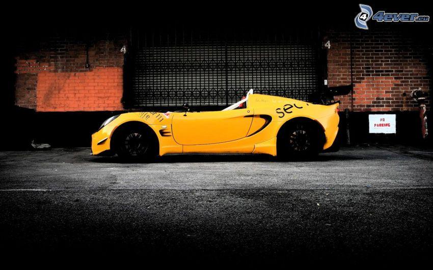 Lotus Elise, auto sportive, cabriolet