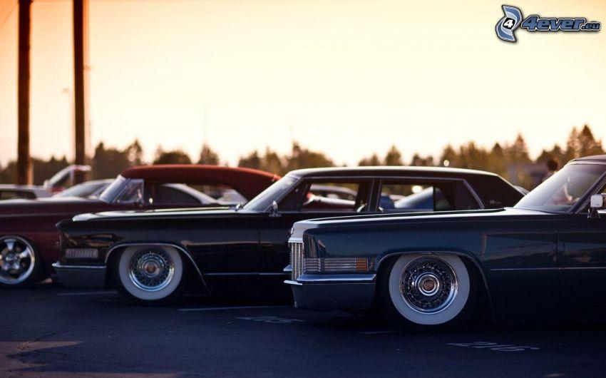 lowrider, parcheggio per macchine vecchie