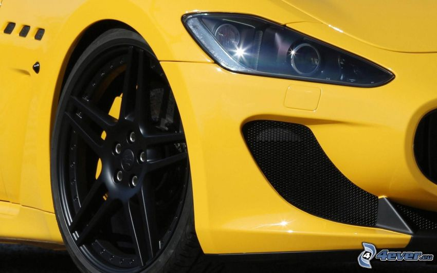 Maserati GranTurismo, riflettore, ruota
