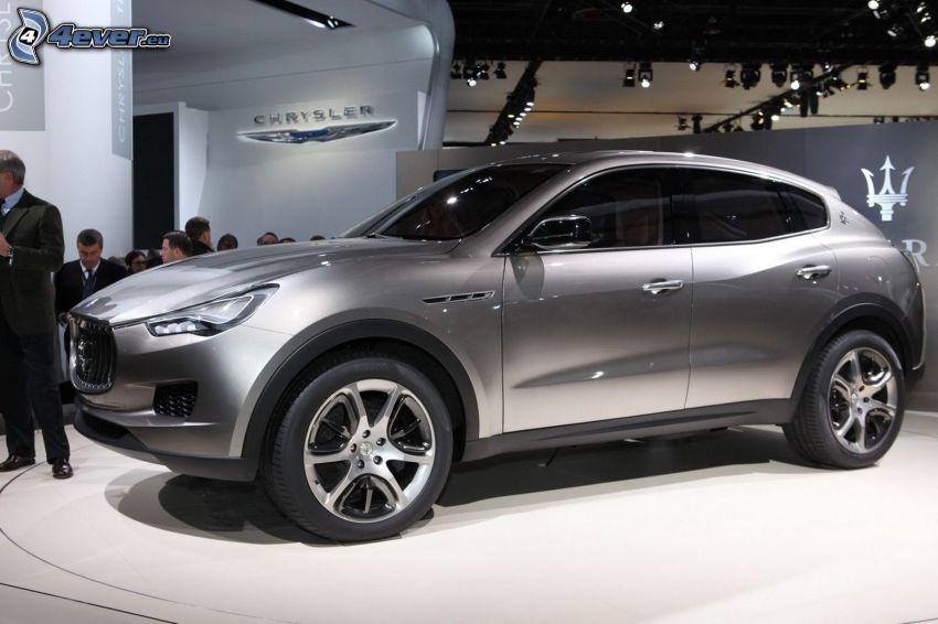 Maserati Kubang, mostra, salone dell'automobile