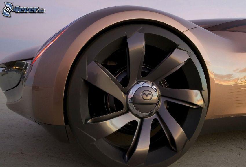 Mazda Nagare, cerchione, ruota