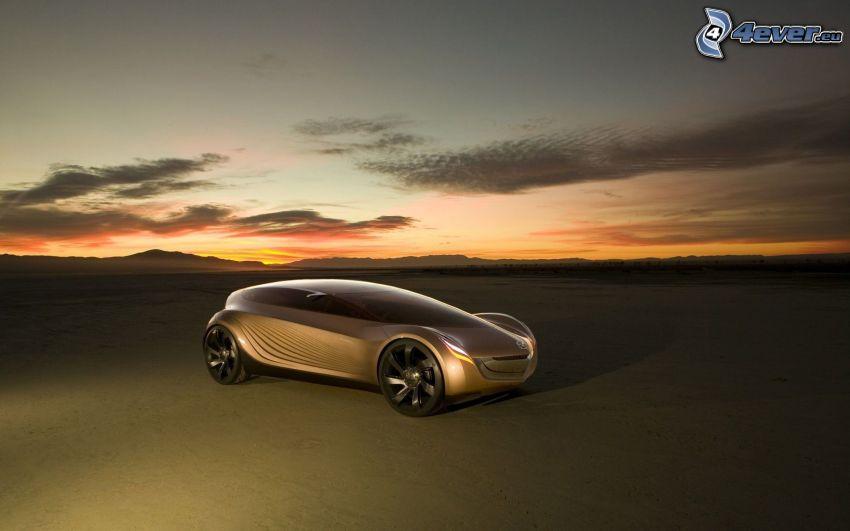 Mazda Nagare, concetto, cielo