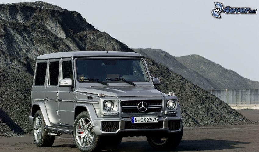 Mercedes-Benz G, colline