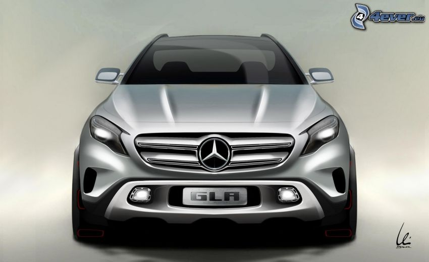 Mercedes-Benz GLA, concetto