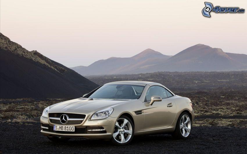 Mercedes-Benz SLK, montagna