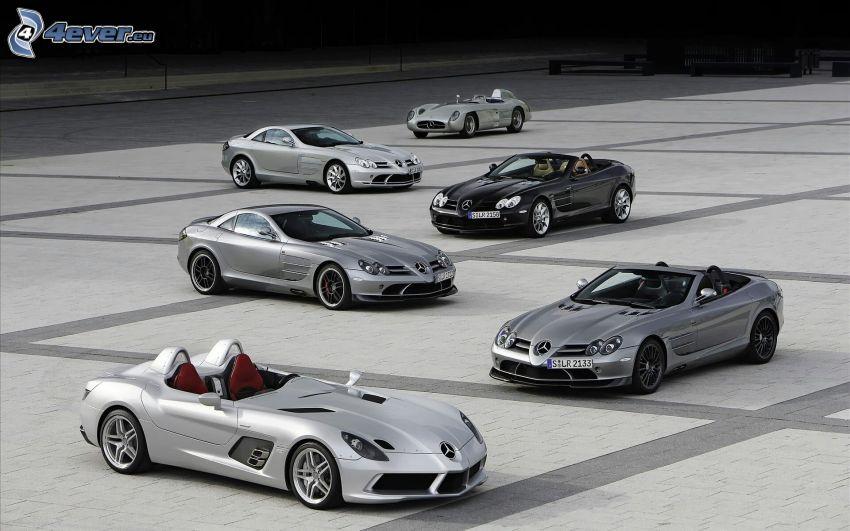 Mercedes-Benz SLR McLaren, evoluzione, cabriolet