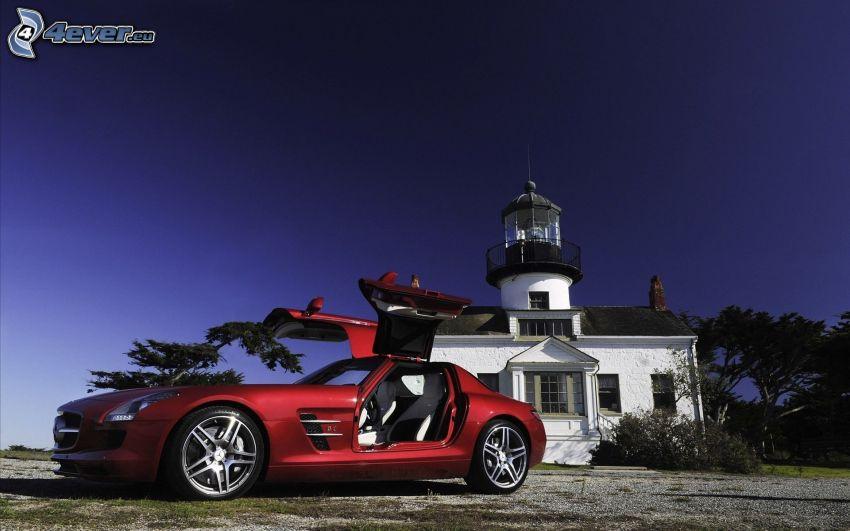 Mercedes-Benz SLS AMG, faro