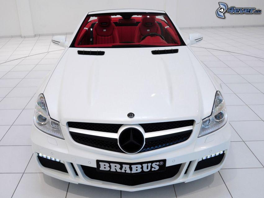 Mercedes Brabus, cabriolet, griglia anteriore