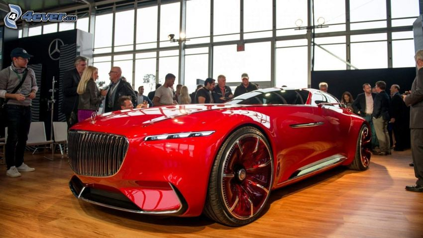 Mercedes-Maybach 6, mostra, salone dell'automobile