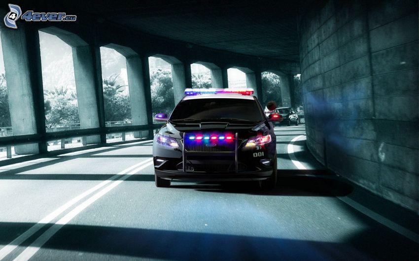 Need For Speed, auto della polizia